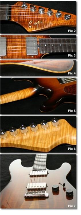 Chris George Guitars Archive Feature Builds